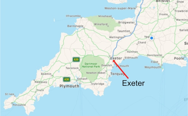 iPhone Repairs Exeter